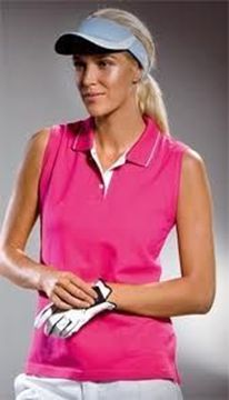 Picture of ARCC Ladies Gamegear Sleeveless Polo - Raspberry