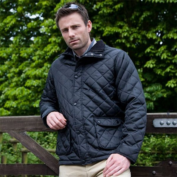 Picture of ARCC Result Cheltenham Jacket - Navy