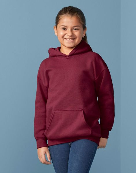 Picture of WICC Gildan Childrens Hoodie - Maroon