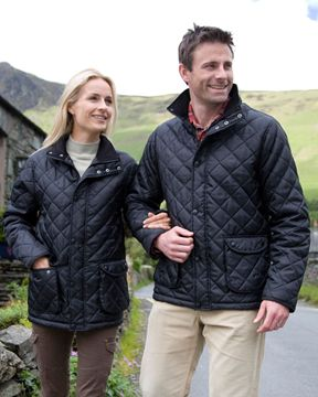 Picture of WICC Result Cheltenham Jacket - Navy
