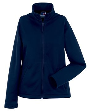 Picture of WICC Russell Ladies Smart Softshell Jacket - French Navy