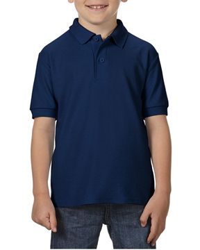 Picture of WICC Gildan Childrens Polo Shirt - Navy Blue