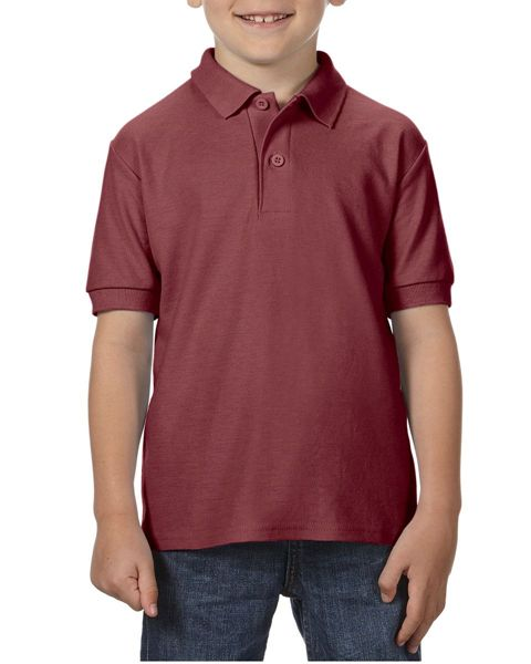 Picture of WICC Gildan Childrens Polo Shirt - Maroon