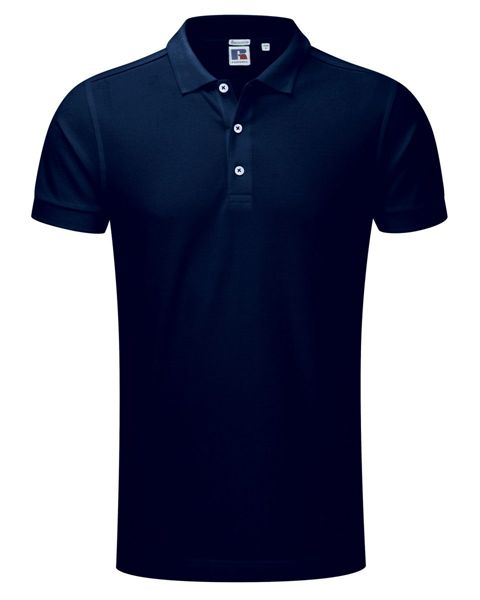 Picture of ARCC Mens Cotton Stretch Polo Shirt - Navy Blue
