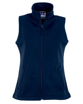 Picture of ARCC Russell Ladies Smart Softshell Gilet - French Navy