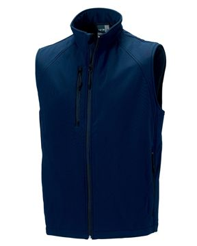 Picture of ARCC Russell Mens Softshell Gilet - French Navy