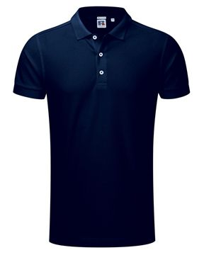 Picture of HCC Mens Cotton Stretch Polo Shirt - Navy Blue