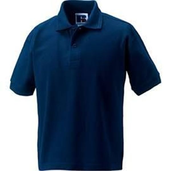 Picture of HCC Russell Childrens Polo Shirt - Navy