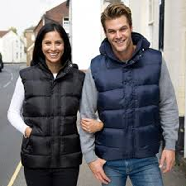 Picture of HCC Result Padded Bodywarmer - Navy