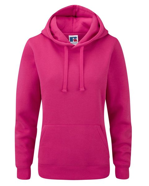 Picture of HCC Russell Ladies Hoodie - Fuchsia