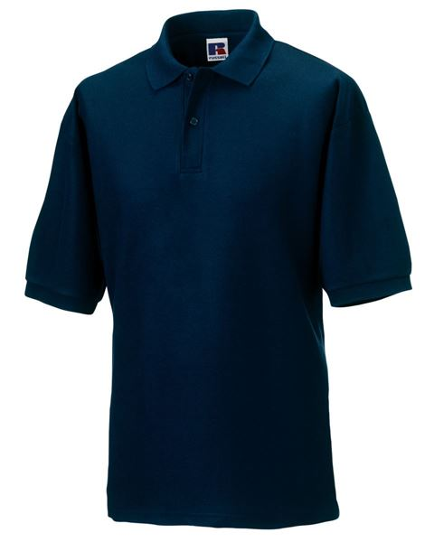 Picture of WICC Russell Polo Shirt - Navy Blue