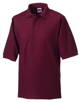 Picture of WICC Russell Polo Shirt - Burgundy