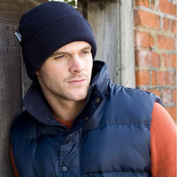Picture of WHSGC Result Woolly Ski Hat - Navy - One Size