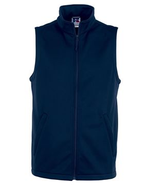 Picture of WHSGC Russell Mens Smart Softshell Gilet - French Navy