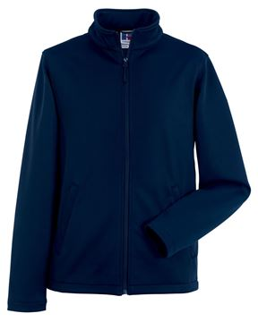 Picture of WHSGC Russell Mens Smart Softshell Jacket - French Navy