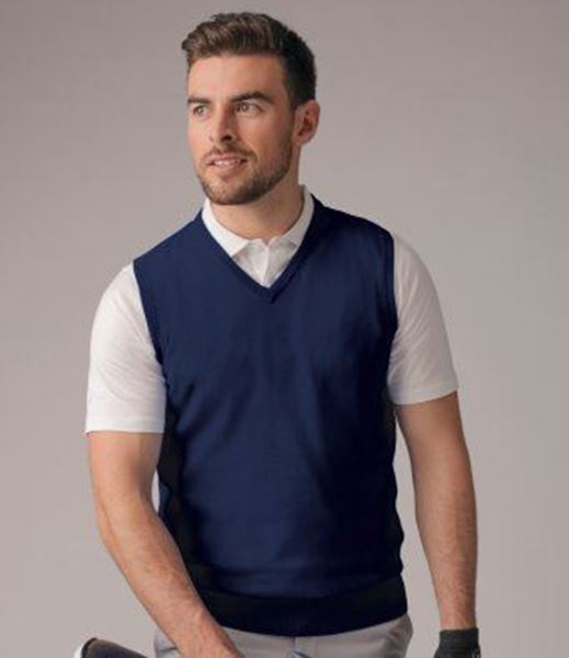 Picture of WHSGC Glenmuir Men's V Neck Slipover - 100% Cotton - Navy