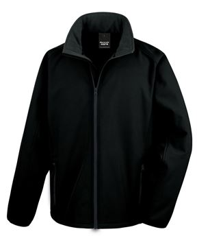 Picture of CCC Result Softshell Jacket - Black