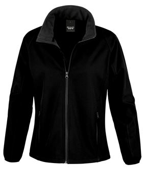 Picture of CCC Result Ladie's Softshell Jacket - Black