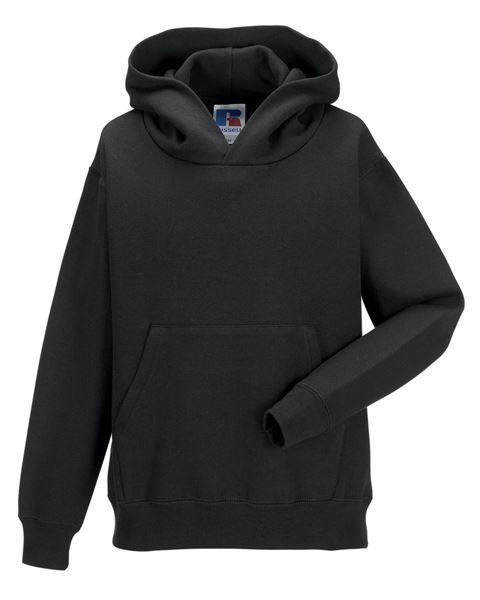 Picture of CCC Russell Childrens Hoodie - Black