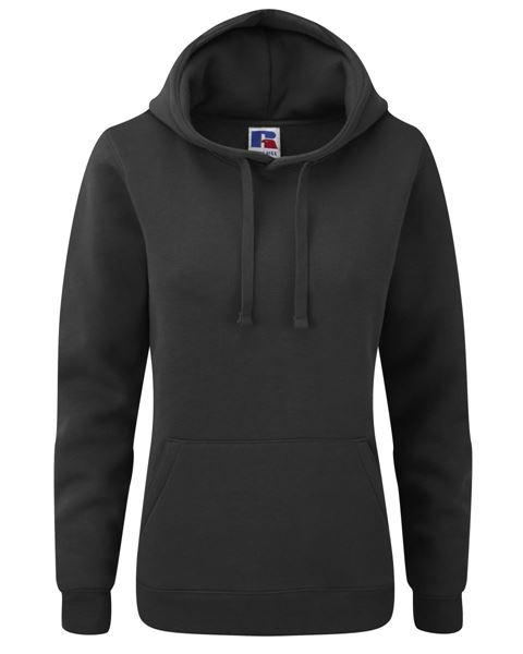 Picture of CCC Russell Ladies Hoodie - Black