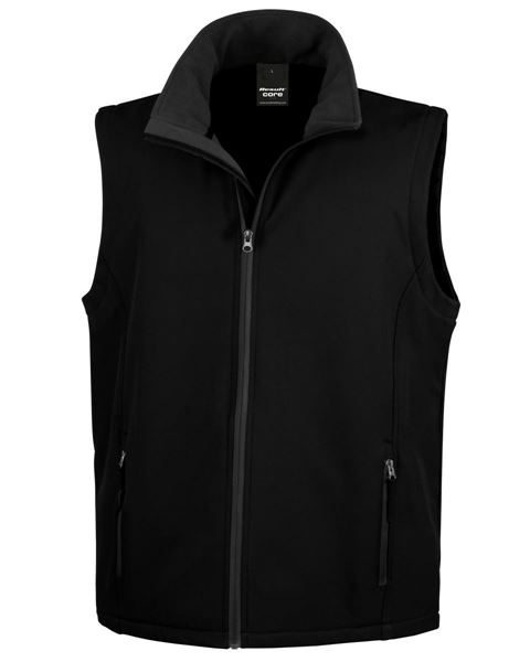 Picture of CCC Result Softshell Gilet - Black