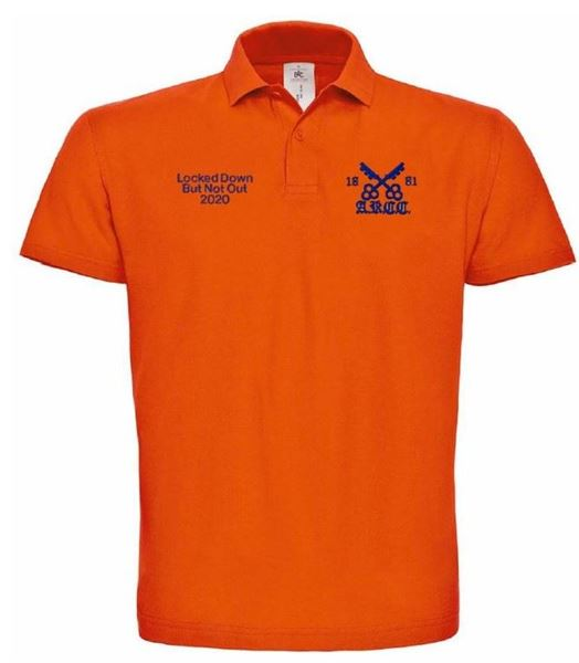 Picture of ARCC 'Lockdown' Mens Inspire Polo Shirt - Urban Orange