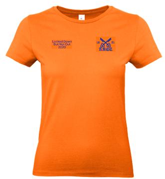 Picture of ARCC 'Lockdown' Womens Tee - Urban Orange